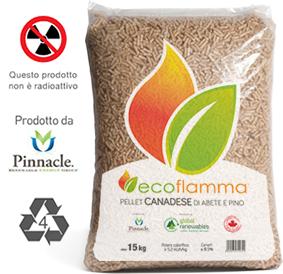 Ecoflamma caratteristiche del pellet canadese distribuito - Migliori stufe a pellet forum ...