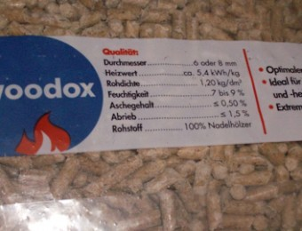 Woodox pellet