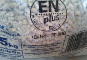 Pellet certificato ENPlus A1