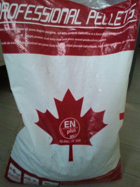 Professional Pellets (canadese) vendita online pellet. Consegna in