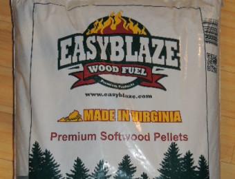 Pellet Easyblaze, marchio americano