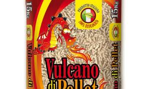 Vulcano di Pellet, italiano di faggio e abete