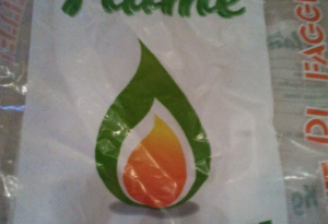 Il sacco da 15 kg di Flame
