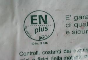 la certificazione di questo pellet del Nord America