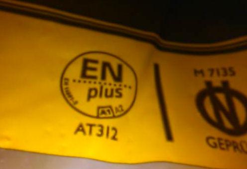 My Premium Pellets è certificato EnPlus A1 AT312