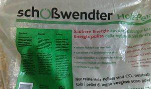 pellet Schosswendter, il sacco