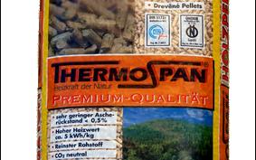 Il pellet tedesco Thrmospan