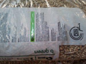 ll sacco del pellet B-Green