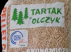 Pellet polacco di pino