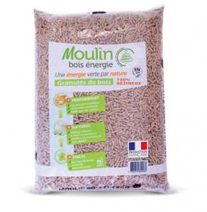 Moulin bois Energie, pellet certificato d'abete