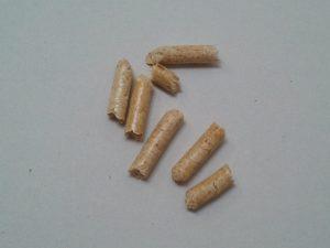Pellet Binder Holz, alcuni pellet