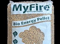 Il pellet MyFire Bio Energy, dal pino giallo d'America
