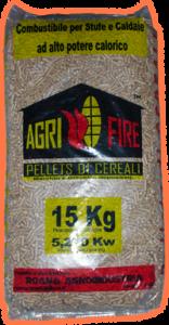 Il sacco di Agrifire, misto cereali e faggio