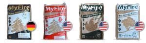 I 4 marchi di pellet MyFire