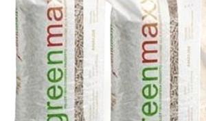 Pellet britannico Greenmax, dalle confere