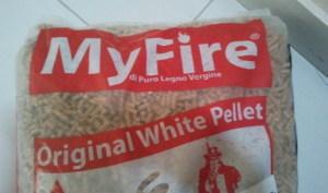 Myfire Origanl White, dal sacco rosso