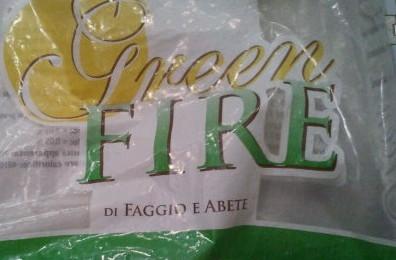 il logo degl green fire pellet