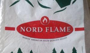 Il sacco del pellet Nord Flame