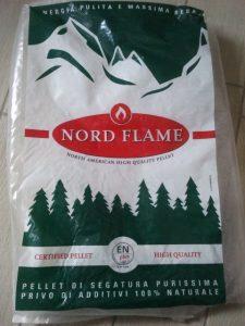 Il pellet americano Nord Flame