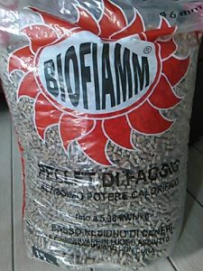 Sacco di pellet Biofiamm