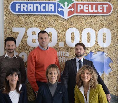 Francia Pellet ha un'efficiente sistema logistico