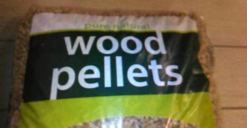 Pellet lettone Pure Natural Wood