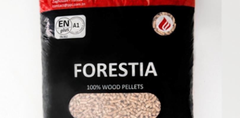 Pellet Forestia dalla Tunisia