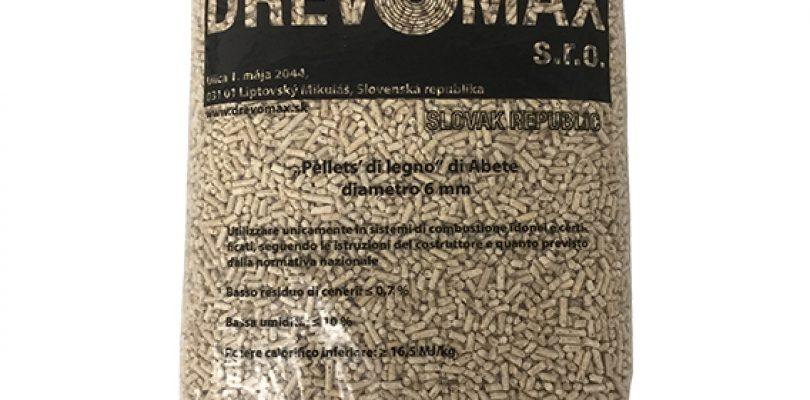 Drevomax, la scheda tecnica di questo pellet